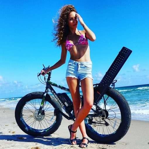 Xtreme Fat Tire Electric Bicycle 1000 watt x 48 volt e-Cherokee