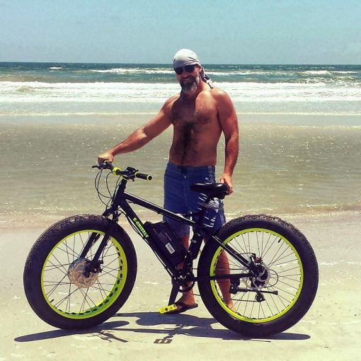 Xtreme Fat Tire Electric Bicycle 1000 watt x 48 volt e-Grizzly