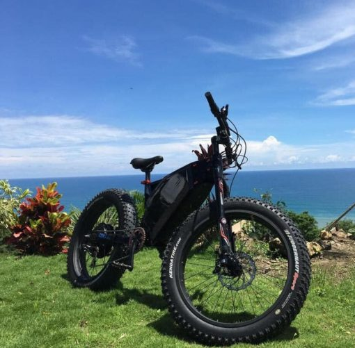 7200w UltraTrek E-Cheetah Full Suspension Electric Bike