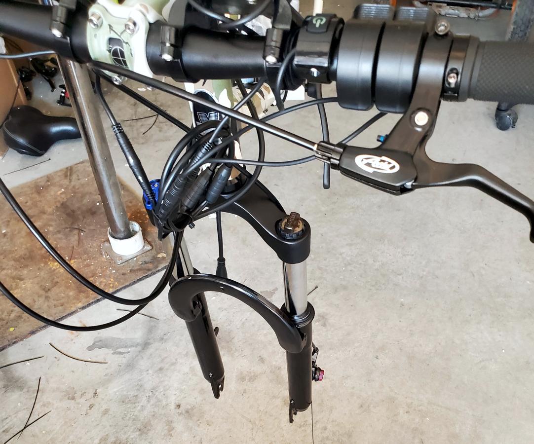 UltraTrek Dual Motor Electric Bike Building