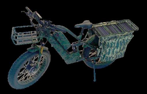 E2-Terminator Electric Bike with Solar Rack